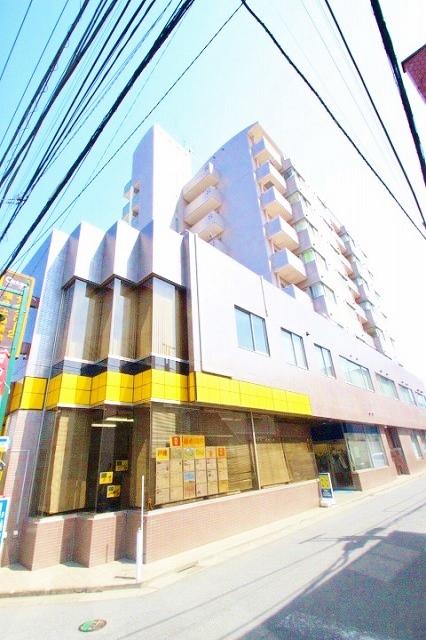 埼玉県富士見市、みずほ台駅徒歩2分の築26年 9階建の賃貸マンション