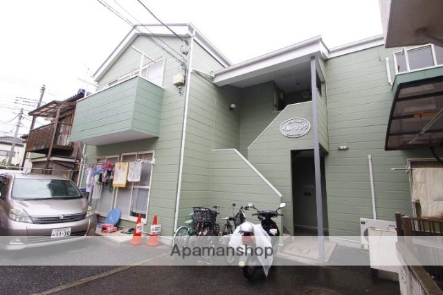 埼玉県ふじみ野市、ふじみ野駅徒歩15分の築21年 2階建の賃貸アパート
