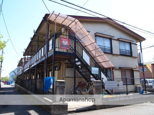 埼玉県富士見市、みずほ台駅徒歩12分の築41年 2階建の賃貸アパート