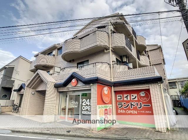 埼玉県ふじみ野市、ふじみ野駅徒歩27分の築30年 4階建の賃貸マンション