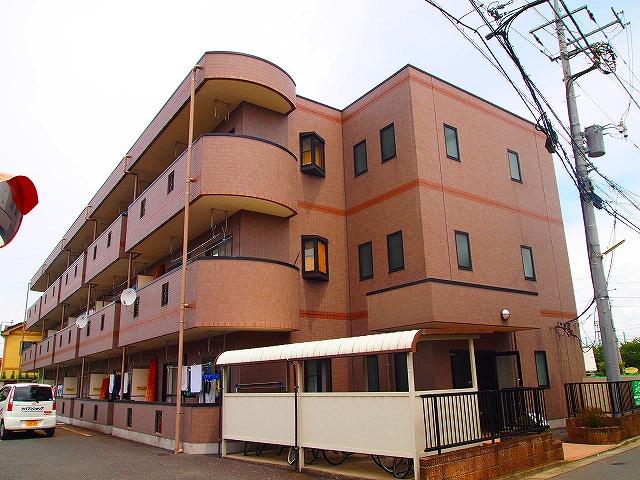 埼玉県川越市、新河岸駅徒歩10分の築19年 3階建の賃貸マンション