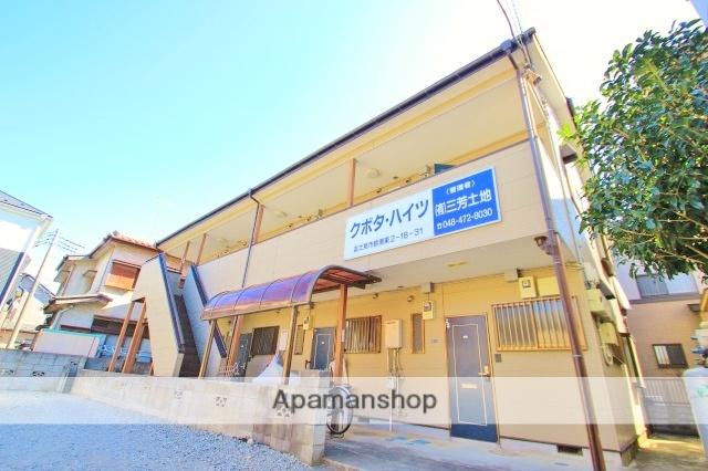 埼玉県富士見市、みずほ台駅徒歩25分の築19年 2階建の賃貸アパート