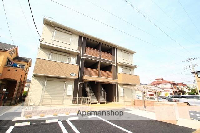 埼玉県新座市、新座駅徒歩20分の築3年 3階建の賃貸アパート