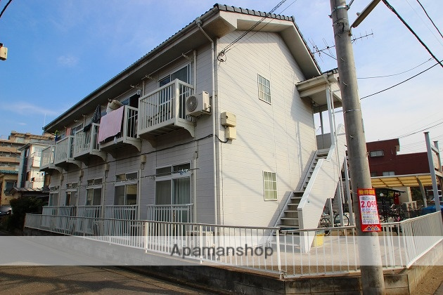 埼玉県富士見市、鶴瀬駅徒歩10分の築21年 2階建の賃貸アパート