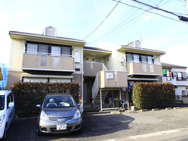 埼玉県川越市、新河岸駅徒歩5分の築25年 2階建の賃貸アパート