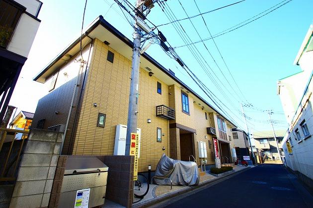 埼玉県ふじみ野市、上福岡駅徒歩10分の築4年 2階建の賃貸アパート