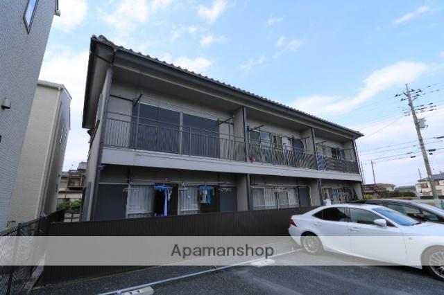 埼玉県川越市、上福岡駅徒歩16分の築42年 2階建の賃貸アパート