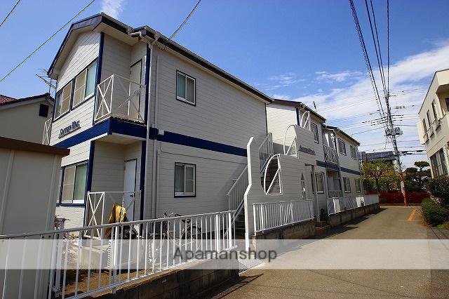 埼玉県富士見市、ふじみ野駅徒歩13分の築28年 2階建の賃貸アパート