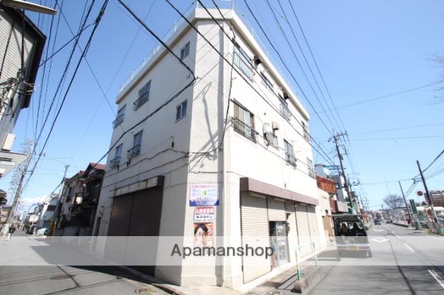 埼玉県朝霞市、北朝霞駅徒歩12分の築47年 3階建の賃貸マンション