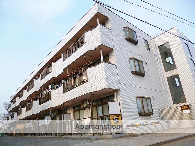 埼玉県志木市、志木駅徒歩16分の築28年 3階建の賃貸マンション