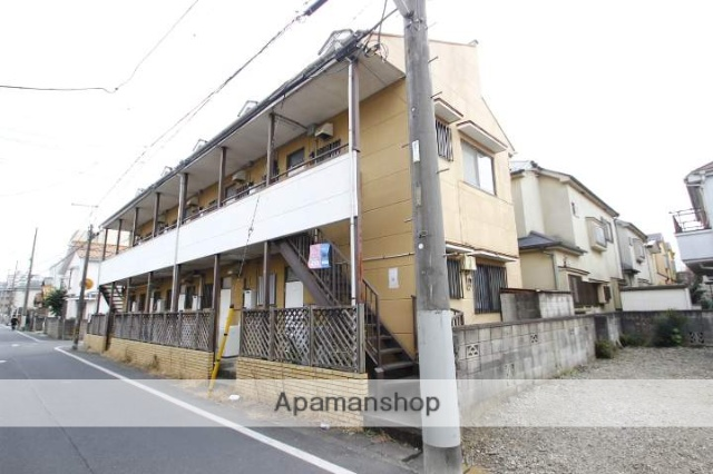 埼玉県川越市、上福岡駅徒歩11分の築30年 2階建の賃貸アパート