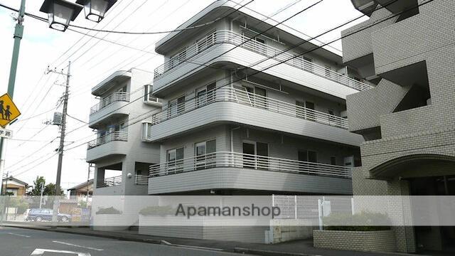 埼玉県富士見市、みずほ台駅徒歩8分の築28年 3階建の賃貸マンション