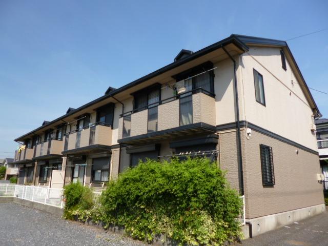 埼玉県富士見市、柳瀬川駅徒歩21分の築20年 2階建の賃貸アパート