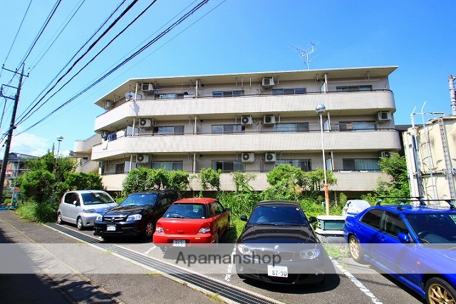 埼玉県志木市、朝霞台駅徒歩30分の築26年 4階建の賃貸マンション