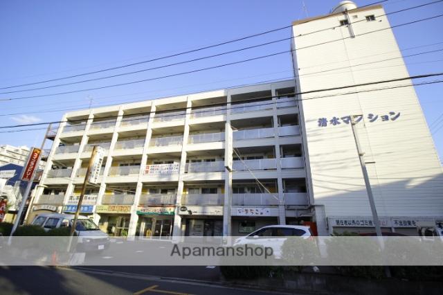 埼玉県志木市、志木駅徒歩8分の築43年 5階建の賃貸マンション