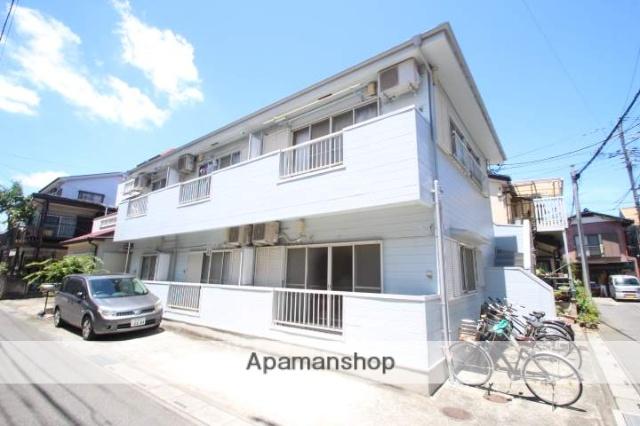 埼玉県富士見市、志木駅徒歩28分の築25年 2階建の賃貸アパート