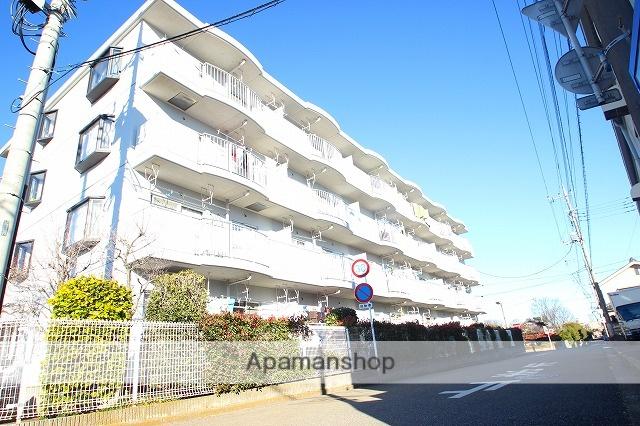 埼玉県富士見市、柳瀬川駅徒歩20分の築22年 4階建の賃貸マンション