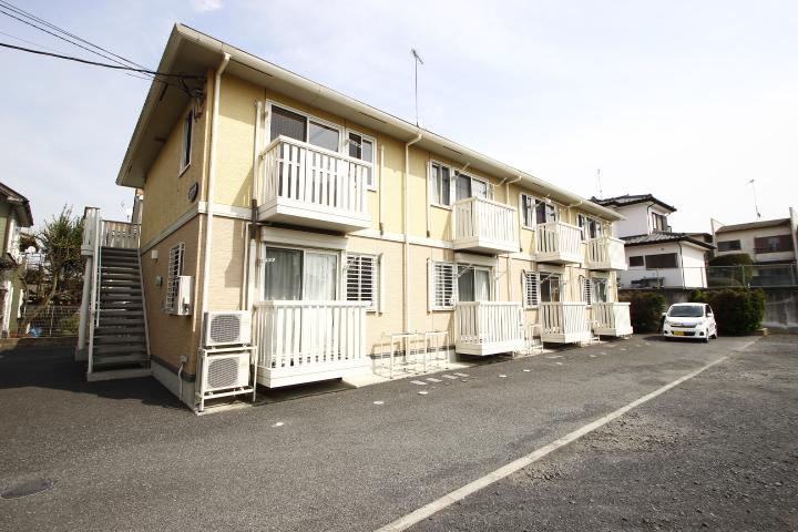 埼玉県川越市、新河岸駅徒歩8分の築8年 2階建の賃貸アパート