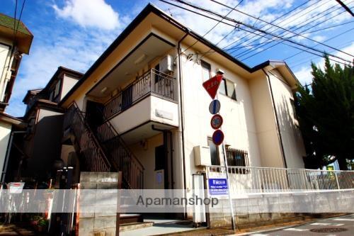 埼玉県富士見市、鶴瀬駅徒歩18分の築28年 2階建の賃貸アパート