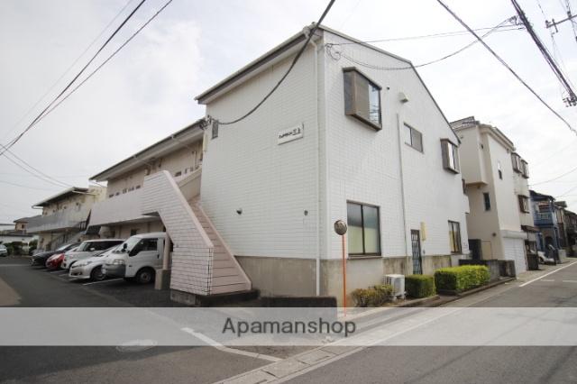 埼玉県ふじみ野市、ふじみ野駅徒歩13分の築27年 2階建の賃貸アパート