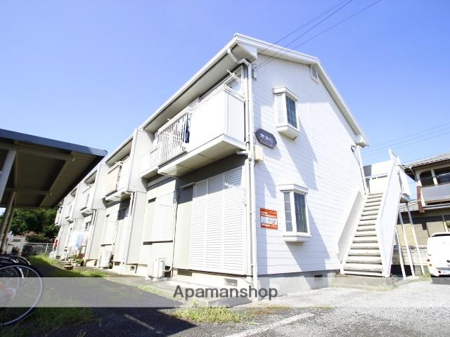 埼玉県志木市、志木駅バス15分上宗岡4丁目下車後徒歩3分の築25年 2階建の賃貸アパート