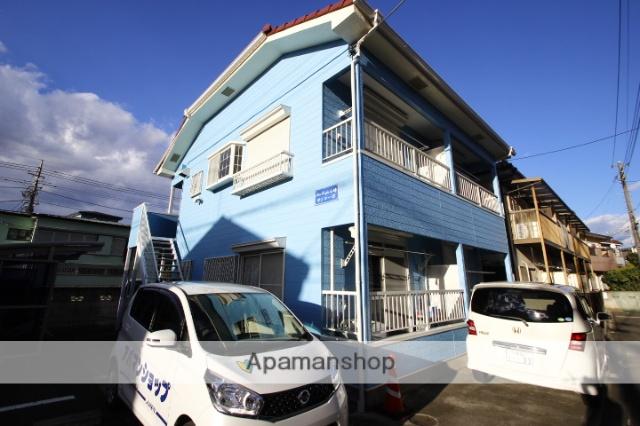 埼玉県ふじみ野市、ふじみ野駅徒歩20分の築25年 2階建の賃貸アパート
