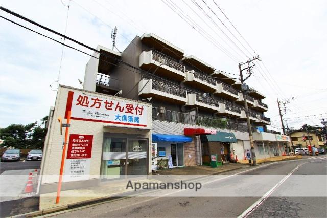 埼玉県川越市、上福岡駅徒歩30分の築33年 4階建の賃貸マンション
