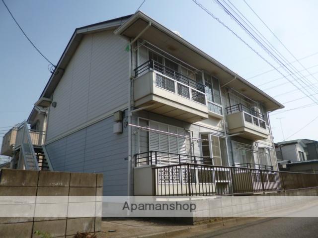 埼玉県ふじみ野市、ふじみ野駅徒歩27分の築25年 2階建の賃貸アパート