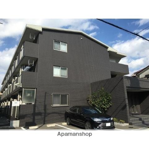 埼玉県ふじみ野市、ふじみ野駅徒歩20分の新築 3階建の賃貸アパート