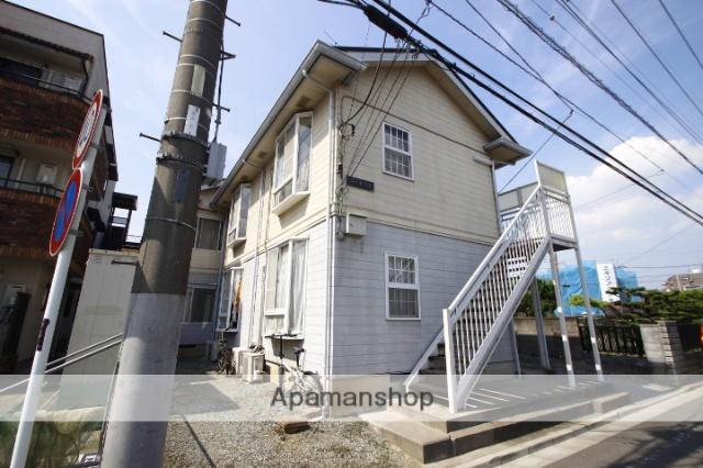 埼玉県川越市、南古谷駅徒歩4分の築25年 2階建の賃貸アパート