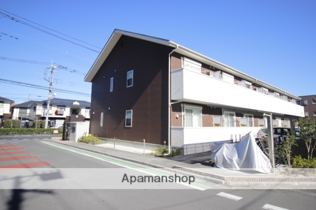 埼玉県富士見市、ふじみ野駅徒歩5分の新築 2階建の賃貸アパート