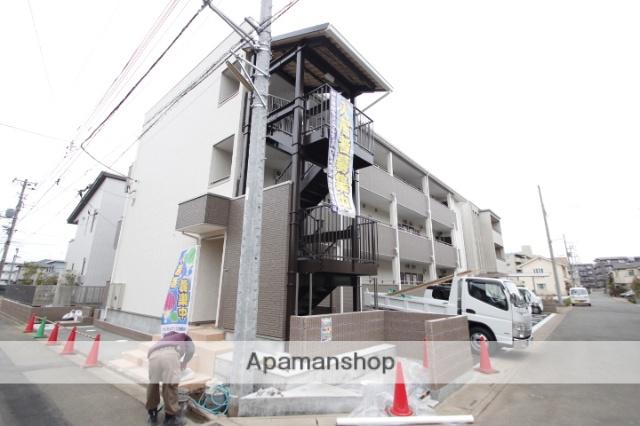 埼玉県富士見市、ふじみ野駅徒歩11分の新築 3階建の賃貸アパート