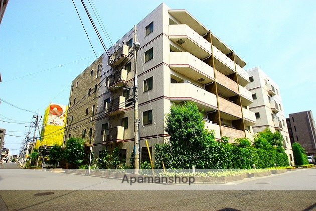 埼玉県富士見市、ふじみ野駅徒歩2分の築7年 5階建の賃貸マンション