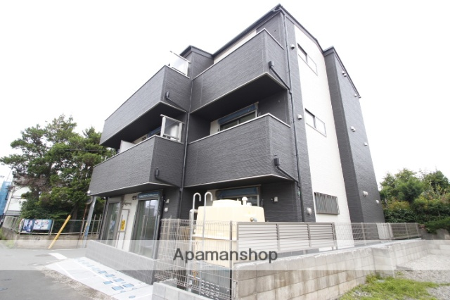 埼玉県ふじみ野市、ふじみ野駅徒歩12分の新築 3階建の賃貸アパート