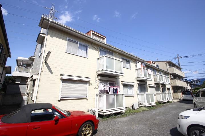 埼玉県川越市、川越駅徒歩13分の築30年 2階建の賃貸アパート
