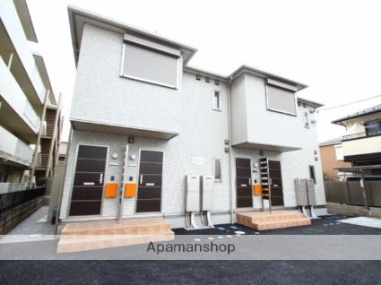 埼玉県富士見市、みずほ台駅徒歩9分の新築 2階建の賃貸アパート