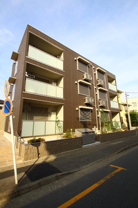 埼玉県朝霞市、北朝霞駅徒歩5分の新築 3階建の賃貸アパート