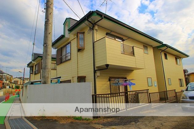 埼玉県富士見市、みずほ台駅徒歩23分の築24年 2階建の賃貸アパート