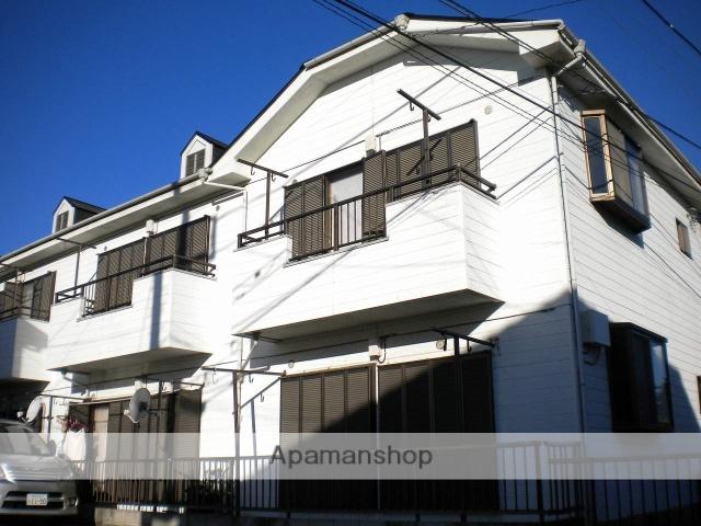 埼玉県富士見市、みずほ台駅徒歩17分の築41年 2階建の賃貸アパート