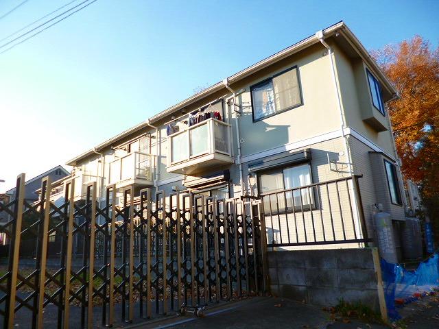 埼玉県富士見市、みずほ台駅徒歩19分の築23年 2階建の賃貸アパート