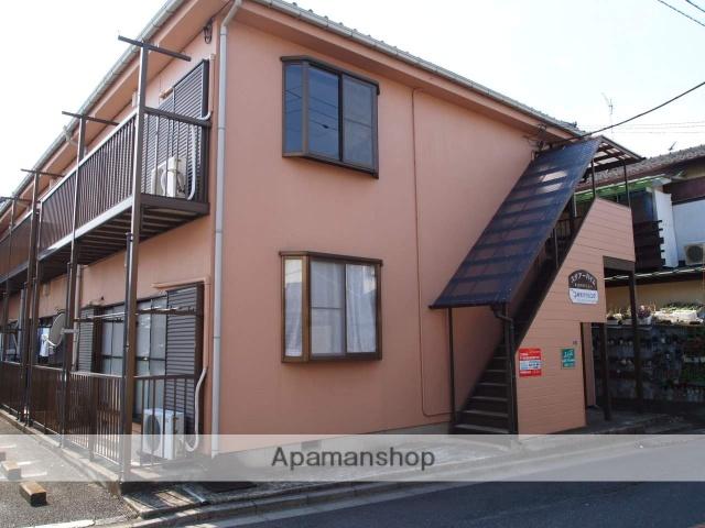 埼玉県富士見市、みずほ台駅徒歩26分の築23年 2階建の賃貸アパート