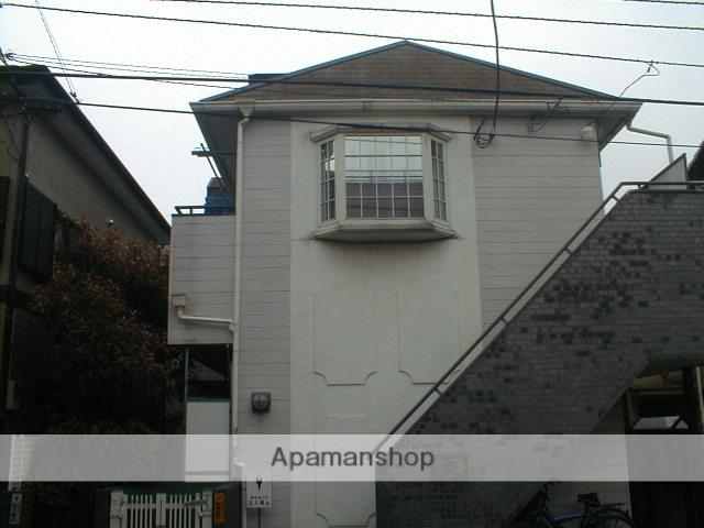埼玉県富士見市、鶴瀬駅徒歩25分の築25年 2階建の賃貸アパート