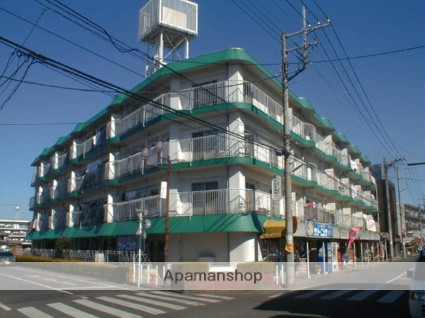埼玉県川越市、新河岸駅徒歩8分の築38年 4階建の賃貸マンション