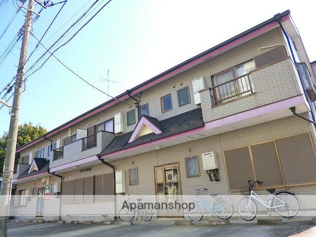 埼玉県富士見市、みずほ台駅徒歩8分の築18年 2階建の賃貸アパート