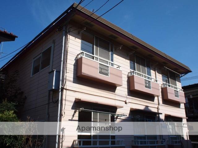埼玉県富士見市、みずほ台駅徒歩22分の築33年 2階建の賃貸アパート