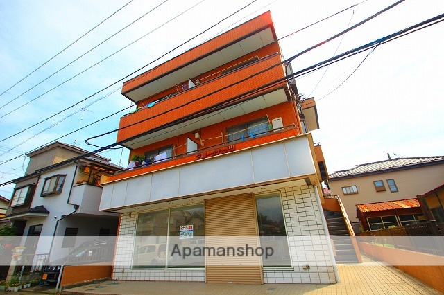 埼玉県富士見市、みずほ台駅徒歩8分の築24年 3階建の賃貸マンション
