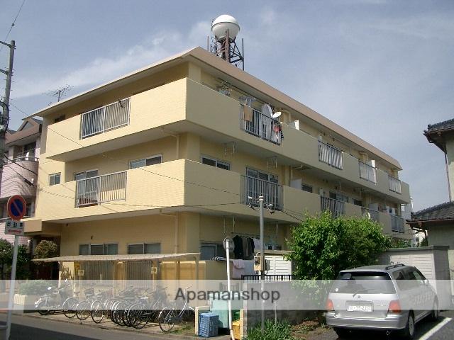 埼玉県富士見市、柳瀬川駅徒歩31分の築29年 3階建の賃貸マンション