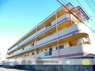 埼玉県富士見市、みずほ台駅徒歩4分の築26年 3階建の賃貸マンション
