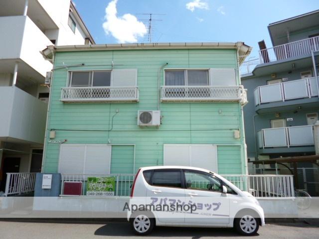 埼玉県富士見市、志木駅徒歩42分の築25年 2階建の賃貸アパート