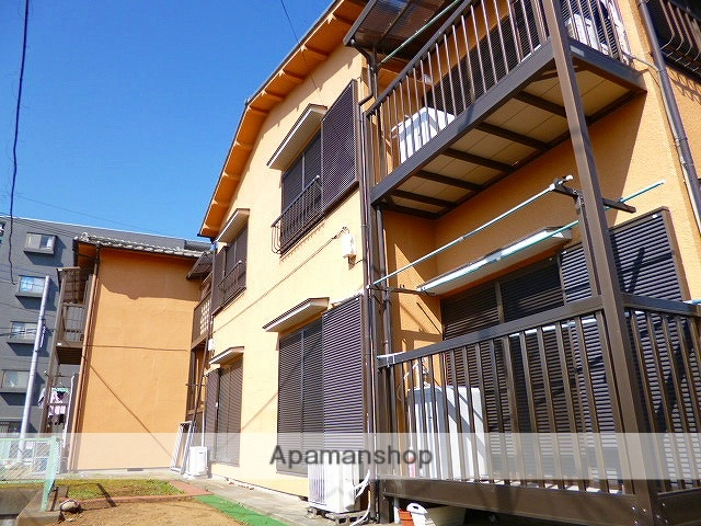 埼玉県富士見市、みずほ台駅徒歩10分の築34年 2階建の賃貸アパート